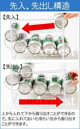 76572 上にも置ける缶ストッカー